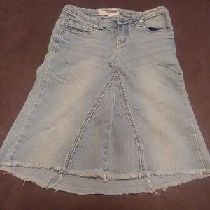 Girls Jean Skirt size 7